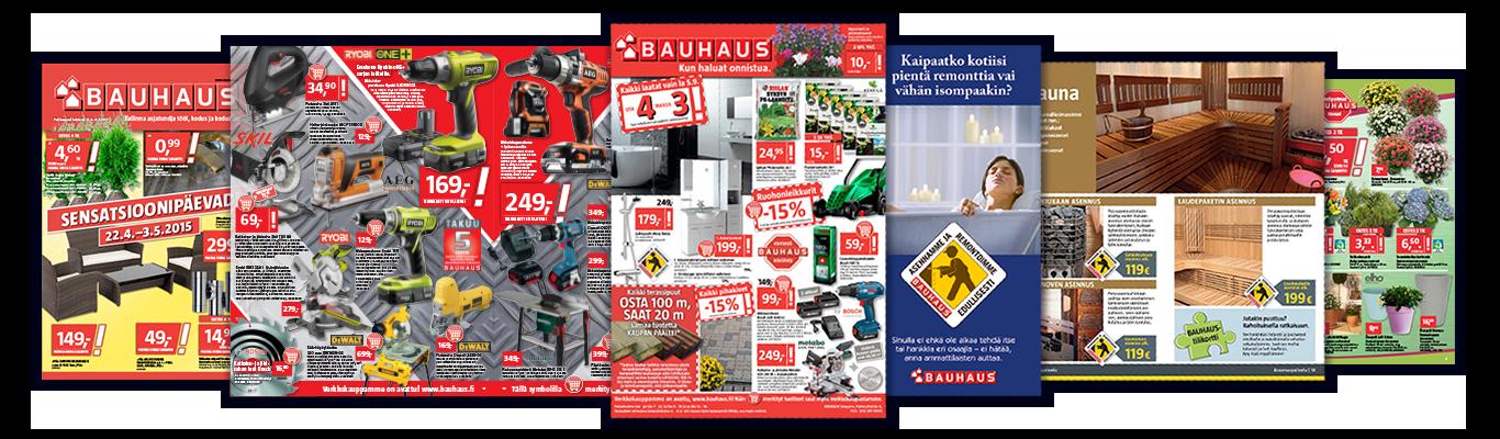 Bauhaus – yhdeksän vuotta yhteistyötä kansainvälisen tavarataloketjun kanssa